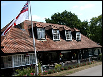 The Artists Rifles clubhouse