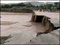 Ethiopia floodwaters