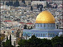 The al-Aqsa complex in Jerusalem