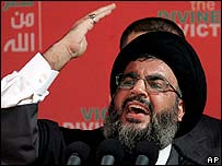 Hezbollah leader Sheikh Hassan Nasrallah. File photo