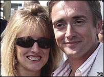 Richard Hammond with wife