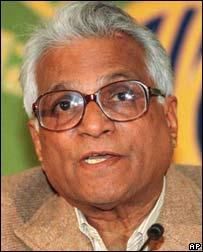 இந்தியாவின் முன்னாள் பாதுகாப்பு அமைச்சர் ஜார்ஜ் பெர்னாண்டஸ்