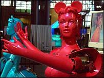 Estos robots pueden bailar entre ellos.
