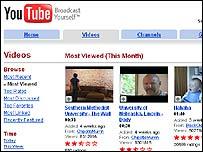 Los usuarios de YouTube miran más de 100 millones de videos por d�a en el sitio.