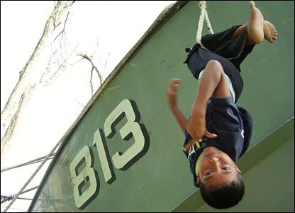 Boat 813, by 11-year-old Kapkaew Leebamrung, Baan Nai Rai, southern Thailand