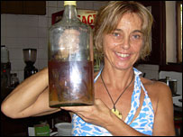 La dueña del café, Maria Joao Pombo quiso registrar la marca de su trago, pero no se lo permitieron