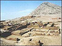 Las cinco tumbas fueron halladas en la pirámide de la Huaca del Oro.