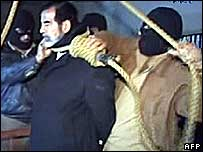 اعدام صدام