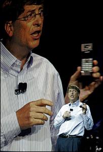 Gates hará su presentación el domingo en Las Vegas...