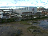 Proposed site in Southampton