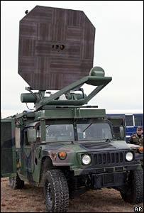 US military - heat ray gun
