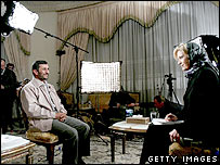 Mahmoud Ahmadinejad's interview with ABC