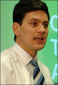David Miliband (Image: PA)