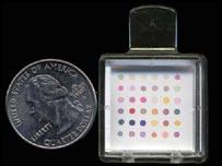 El sensor, un poco más grande que una moneda, no es costoso.