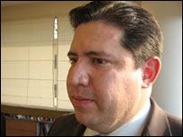 Armando Mart�nez Gómez, presidente de la Asociación de Abogados Católicos.