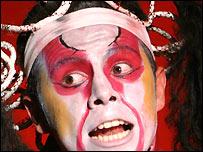 Actor del Circo Ciudad de Colombia