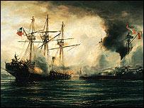 Chile y Perú se enfrentaron a finales del siglo 19.