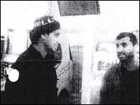MI5 surveillance footage of the meeting