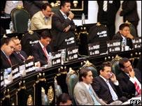 Los legisladores de Ciudad de México discuten la despenalización en el distrito de la capital.