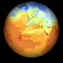 Climate model. BBC