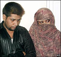 Shumail Raj (left) and Shahzina Tariq
