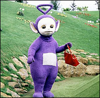 Tinky Winky en The Teletubbies
