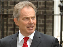 Former UK PM Tony Blair