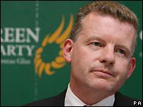 Irish Green Party leader Trevor Sargent - 12/06/2007