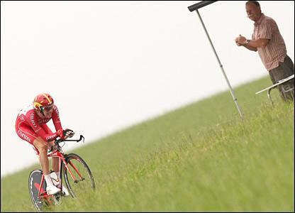 Bradley Wiggins - photo from BBC website