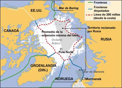 Resultado de imagen de soberania artico