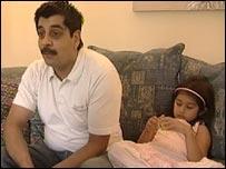 Bal Singh and daughter Maya Kaur