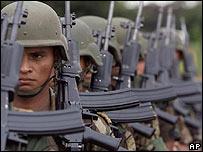 Efectivos del Ejército de Colombia