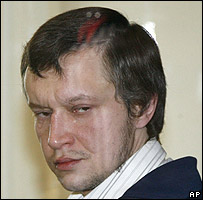 Alexander Pichushkin in Moscow courtroom