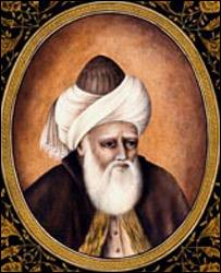 A painting of Rumi by Haydar Hatemi (Copyright: Haydar Hatemi)