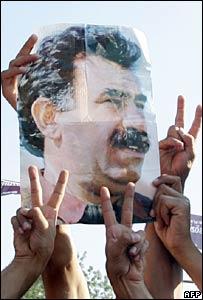 عبد الله أوجلان المسجون في تركيا