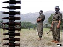 أعضاء بحزب العمال الكردستاني