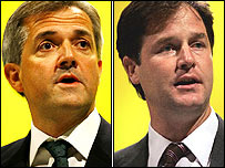 Huhne and Twit