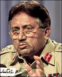Parvez Musharraf of Pakistan