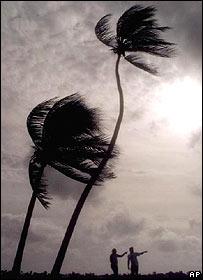 Huracán en Florida, EE.UU.