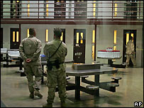 US guards at Guantanamo Bay prison - 9/10/2007