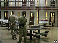 US guards at Guantanamo Bay prison - 9/10/2007
