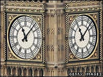 Big Ben clock face, London
