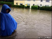 Inundaciones en Inglaterra, 2007