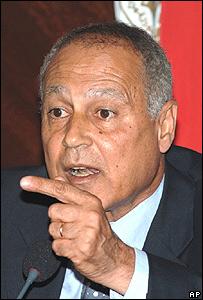 وزير الخارجية المصري أ�مد أبو الغيط