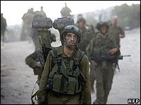 Tentara Israel meninggalkan Libanon, bulan Agustus 2006