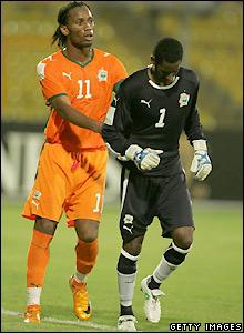 Ivory Coast 1 Egypt 4