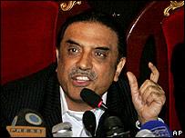 PPP leader Asif Ali Zardari