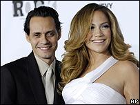 Marc Antonhy y Jennifer López