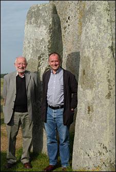 Geoff Wainwright and Tim Darvill (BBC)
