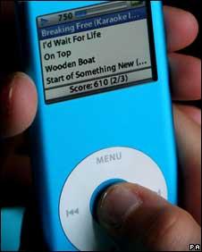 iPod nano, PA